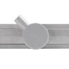 Лінійний трап Piastrella Uni 60 см з сухим клапаном і гідрозатвором 360⁰